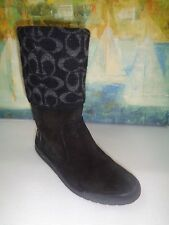 Coach Boots Black Boots Womens size 8.5 M