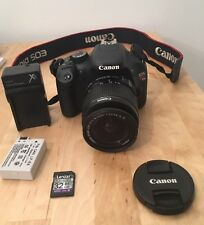Canon EOS Rebel T2i Digital Camera DS126271 EF-S 18-55mm 1:3.5-5.6 W/Charger