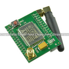 New A6 GPRS/GSM Adapter Board Plate Quad-band 850 900 1800 1900MHZ +Antenna UK
