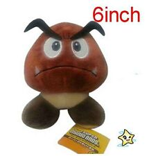 New Super Mario Bros.Sad Goomba Stuffed Plush Doll Toy 6""