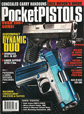 Gun Buyer's Annual Presents #123 POCKET PISTOLS Concealed Carry Handguns Laws