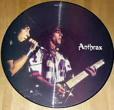 Anthrax Ltd Edition Interview Picture Disc,Excellent Condition,Pre Owned Copy