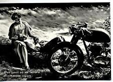Due cuori ed un motore Coppia con Motocicletta PC Circa 1960 Real Photo