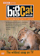 NEW DVD BBC Big Cat Week THE COMPLETE FOURTH TV SERIES Season 4 Simon King RARE