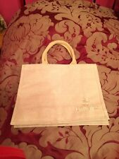 Emirates Airways 1st Class Suites A380 Webbing Handle Jute Bag/shopper BNWOT