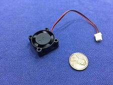 1 Piece BXR 25mm x 25 x 10 small Brushless Cooling Fan micro Flow CFM 12V c7