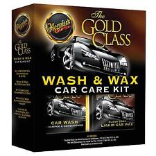 Meguiar's Gold Class Wash & Wax Car Care Kit - Wax, Shampoo & Conditioner