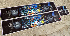 "TAMIYA 14/1 Scala Camion ""TRANSFORMERS"" a tema REEFER TRAILER adesivi decalcomanie Set"