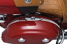 KURYAKYN CHROME SADDLEBAG TOP TRIM INDIAN CHIEFTAIN ROADMASTER TOURING 2014-2016