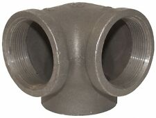 """1/2"""" Side Outlet Elbow DEG 90° BLACK MALLEABLE IRON fitting pipe npt"""