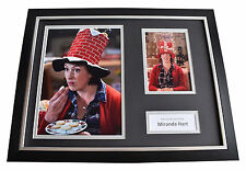Miranda Hart SIGNED FRAMED Photo Autograph 16x12 display TV Comedy AFTAL & COA