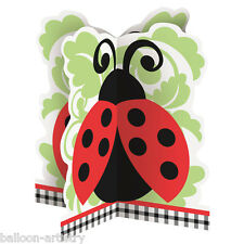 """14"""" LOVELY LADYBUGS Birthday Baby Shower Party Table Centrepiece Decoration"""