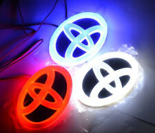 New TOYOTA car auto cold led logo light 4D led emblems lamp badge light K5 logo