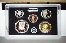 2015 S Partial Proof Set SILVER Kennedy Dime Native $1 5¢ 1¢ 5 Coins NO BOX COA