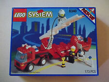 Lego 6340 HOOK & LADDER City Town Fire Truck w/Box & Instructions