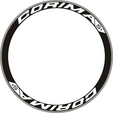 CORIMA S+ CARBON WHEEL RIM DECAL STICKERS REPLACEMENT SET FOR TWO RIMS 700C
