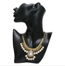 Fashion contemporary  crystal necklace for partywear