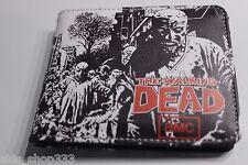 AMC The WALKING DEAD ! bi fold wallet  Rick Grimes Daryl Dixon US Seller