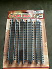 NEW Factory Sealed by T & S Trains 8 STRAIGHT TRAIN TRACKS 8 per pack