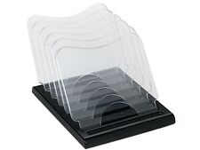 Deflect-o 39090104B Document Browser, Five Sections, Plastic, 8 1/8w x 11 5/8d x