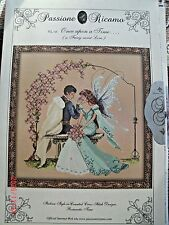 "COMPLETE Counted X STITCH KIT Materials ""ONCE UPON A TIME RL18"" Passione Ricamo"