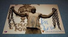 Texas Longhorns Brian Orakpo Signed Autographed 17x11 Photo Washington Redskins