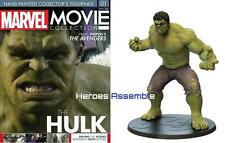 MARVEL MOVIE COLLECTION SPECIAL #1 HULK FIGURINE EAGLEMOSS NEW