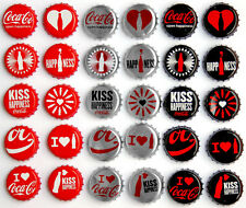 Coca Cola, Light & Zero 100 years of Coke bottle sets – crown caps / kronkorken