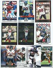 Lot of 19 Different Andre Johnson Cards 2005-2013; NM-Mint; Houston Texans