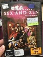 Sex And Zen Extreme Ecstasy ex-rental region 4 DVD (Hong Kong erotic drama movie