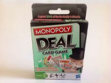 Monopoly Deal Card Game Hasbro 2008 - Discontinued  - New/Sealed Deck - 8+