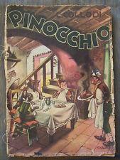 1949-COLLODI-PINOCCHIO-ILLUSTRAZIONI A COLORI DI GALBIATI-TIP. ED. LUCCHI MILANO