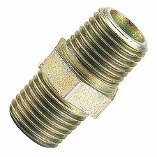 """Draper/PCL Air Line Tools 1/4"""" BSP Male To Male Connector Fitting Changer 63356"""