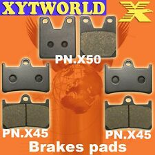 Front Rear Brake Pads for Yamaha YZF R1 1998-2001