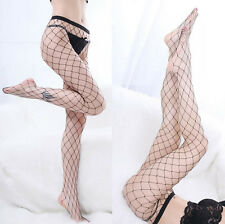 Sexy Women Fashion Black Big Mesh Fishnet Net Pattern Pantyhose Stockings twe