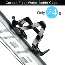 Carbon Water Bottle Cage rack holder rf Road Cycling Bike Bicycle 24g Side Load