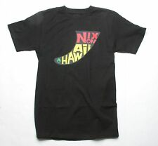 Nixon NX Fin Hawaii Short Sleeve Tee T-Shirt (L) Black S1623000-04