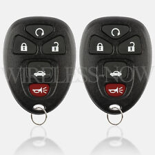 2 Replacement For 04 05 06 07 08 09 10 11 12 Chevrolet Malibu Keyless Key Fob
