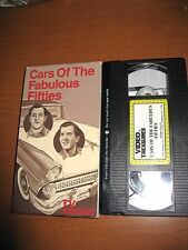 Cars of the Fabulous Fifties - RARE Classic Car VHS Movie Video - Commercials