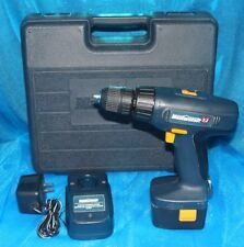MASTERCRAFT 7.2V Cordless Drill w/ battery, 3h Charger, case, bundle