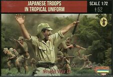 Strelets 1/72 (20mm) WWII Japanese Troops in Tropical Uniforms