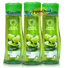 3x Herbal Essences Dazzling 24h Shine Hair Shampoo for Normal Hair 200ml
