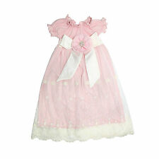 PURRFECT Haute Baby Boutique HEIRLOOM Newborn Girls Gown LACY ROSE Easter Perfec