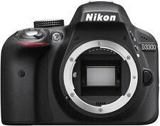 Nikon D3300 Digital SLR Camera Black + NIKKOR 18-55mm f/3.5-5.6G AF-P Lens - USA