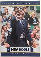 Tyrone Corbin Coach Utah Jazz #147 Panini 10 Original 2011-2012 Single