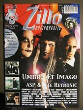 ZILLO 2005 # 2 - UMBRA ET IMAGO ASP RETROSIC TRISTANIA NEUROTICFISH GIRLS UNDER