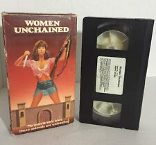 Women Unchained Rare & OOP Cult Horror Original Simitar Home Video Release VHS