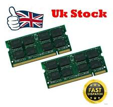 4GB 2x2gb PC2-5300 DDR2 PC5300 667Mhz SoDimm 200pin