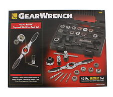 GearWrench 3886 40-Pc Metric Tap and Die Set