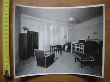 ANCIENNE PHOTO grande chambre luxe Clinique de la Muette animee HOPITAL MEDECIN